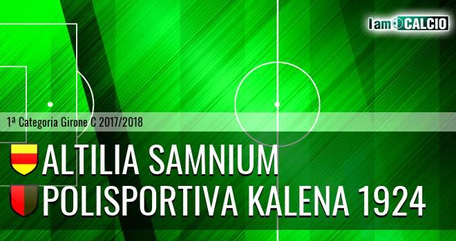 Altilia Samnium - Polisportiva Kalena 1924