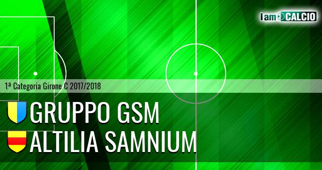 Gruppo GSM - Altilia Samnium