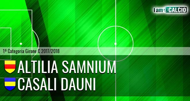 Altilia Samnium - Casali Dauni