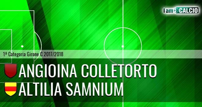 Angioina Colletorto - Altilia Samnium