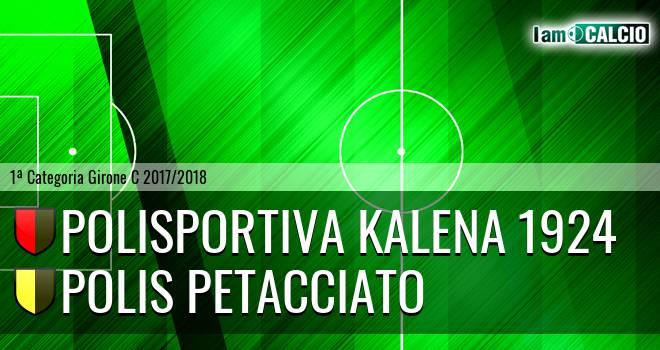 Polisportiva Kalena 1924 - Polis Petacciato