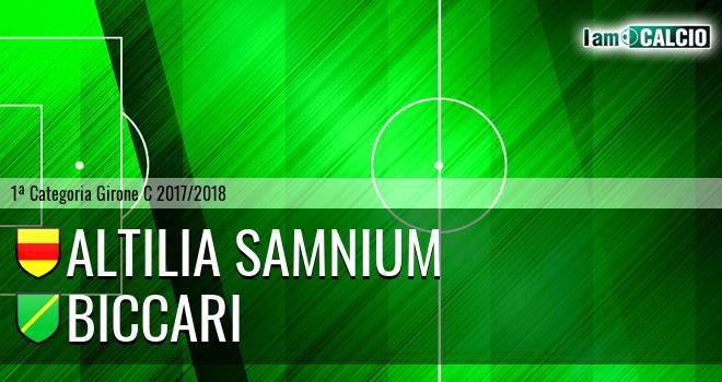 Altilia Samnium - Biccari