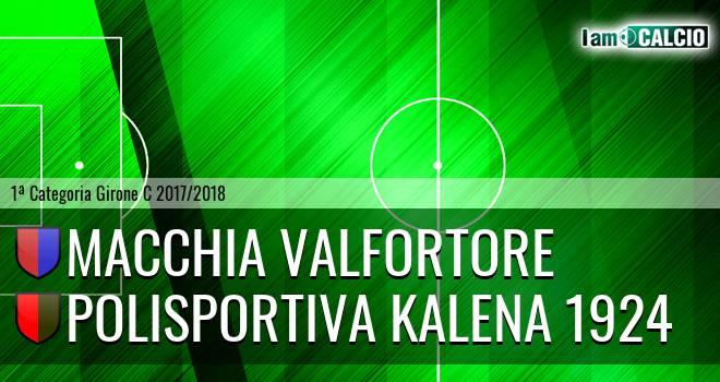 Macchia Valfortore - Polisportiva Kalena 1924