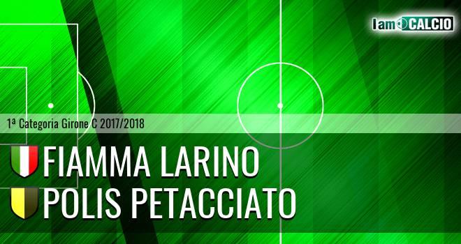 Fiamma Larino - Polis Petacciato