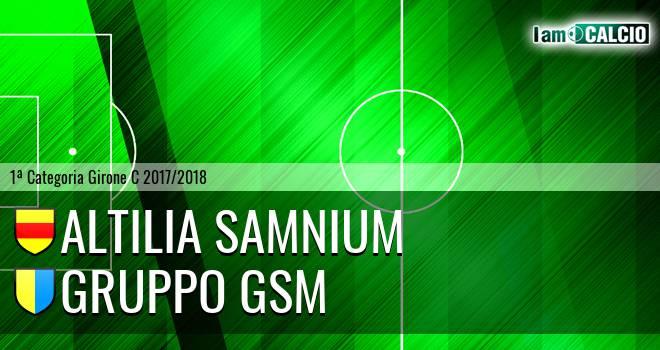 Altilia Samnium - Gruppo GSM