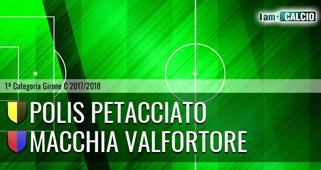 Polis Petacciato - Macchia Valfortore
