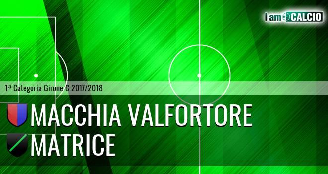 Macchia Valfortore - Matrice