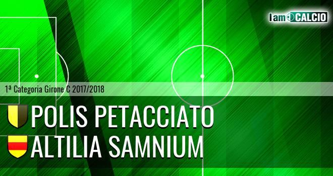 Polis Petacciato - Altilia Samnium