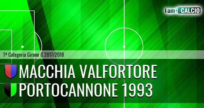 Macchia Valfortore - Portocannone 1993