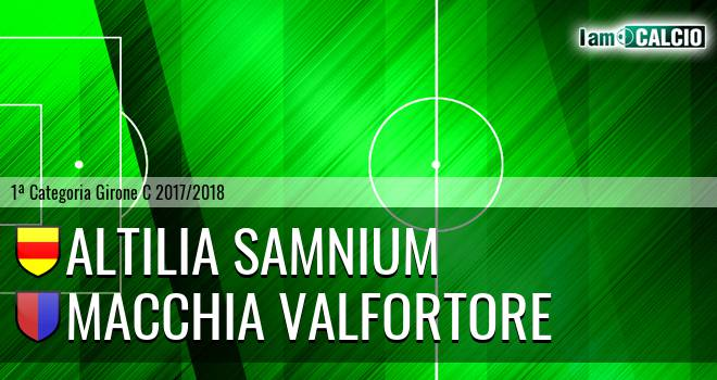 Altilia Samnium - Macchia Valfortore