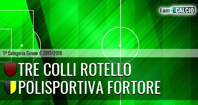 Tre Colli Rotello - Polisportiva Fortore