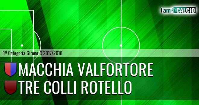 Macchia Valfortore - Tre Colli Rotello