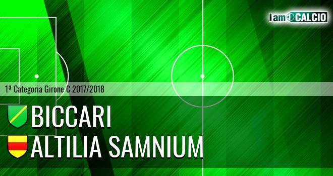 Biccari - Altilia Samnium
