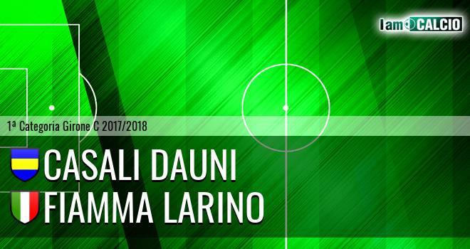 Casali Dauni - Fiamma Larino
