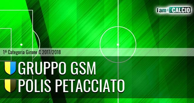 Gruppo GSM - Polis Petacciato