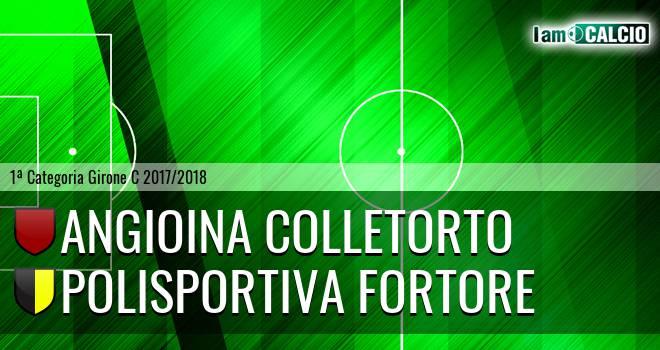 Angioina Colletorto - Polisportiva Fortore
