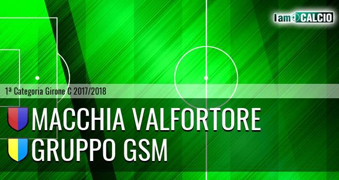 Macchia Valfortore - Gruppo GSM