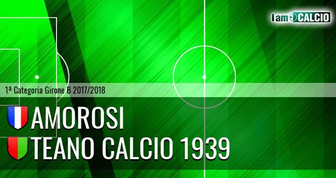Amorosi - Teano Calcio 1939