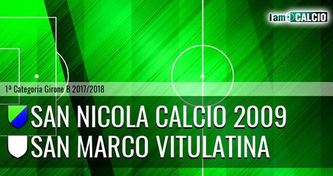 San Nicola Calcio 2009 - Dea Diana Cervino