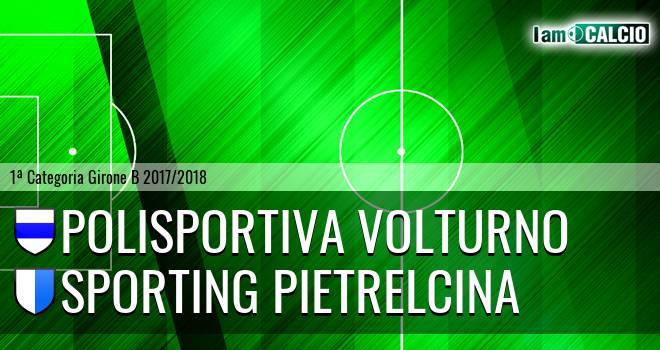 Polisportiva Volturno - Sporting Pietrelcina