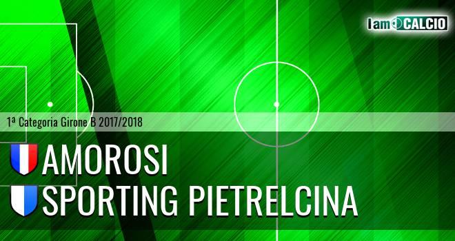 Amorosi - Sporting Pietrelcina