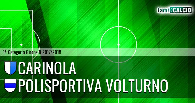 Carinola - Polisportiva Volturno