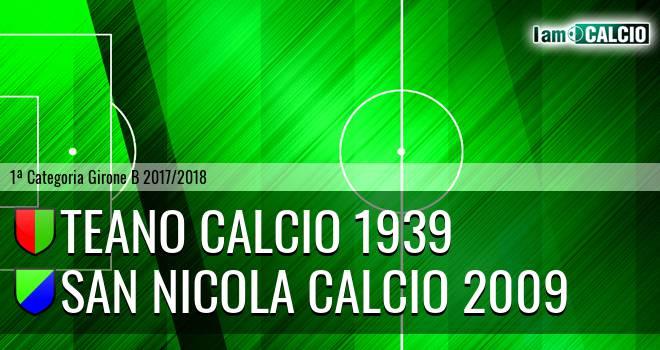 Teano Calcio 1939 - San Nicola Calcio 2009