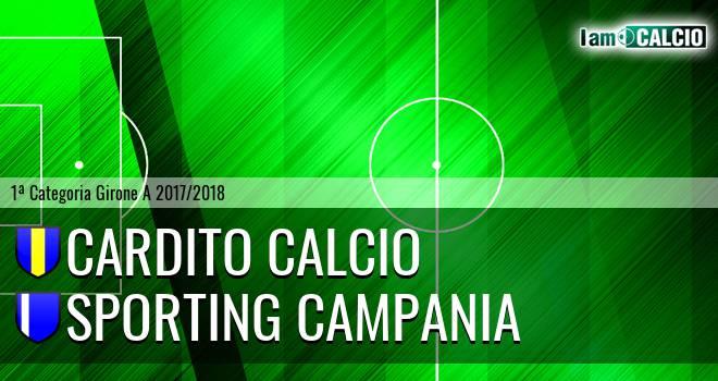 Cardito Calcio - Sporting Campania