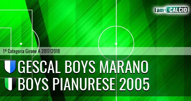 Gescal Boys Marano - Boys Pianurese 2005