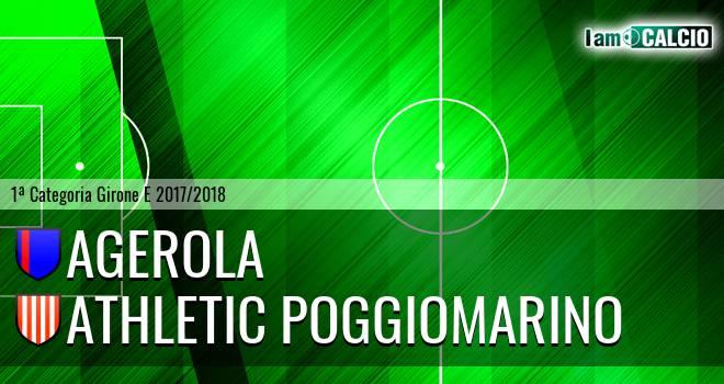 Agerola - Athletic Poggiomarino