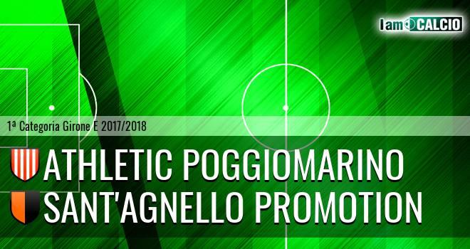 Athletic Poggiomarino - Sant'Agnello Promotion