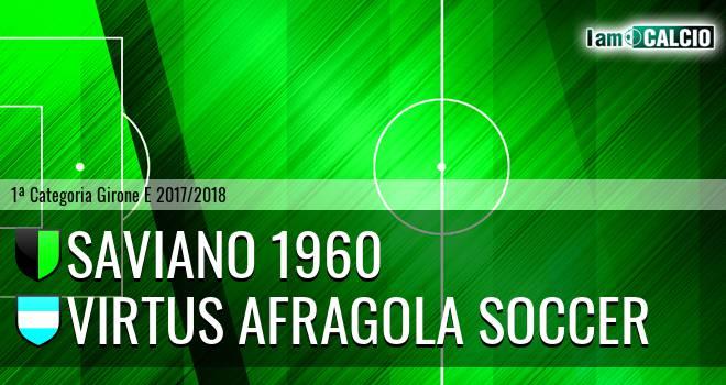 Saviano 1960 - Virtus Afragola Soccer