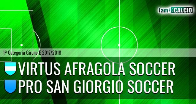 Virtus Afragola Soccer - Terzigno