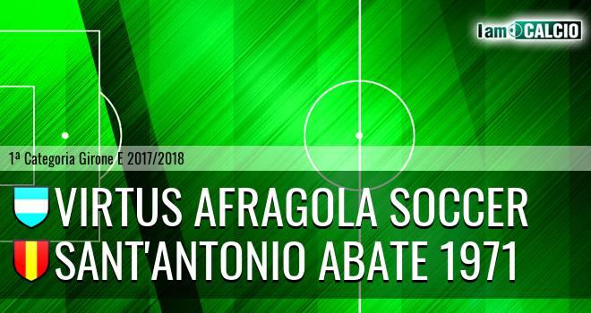 Virtus Afragola Soccer - Sant'Antonio Abate 1971