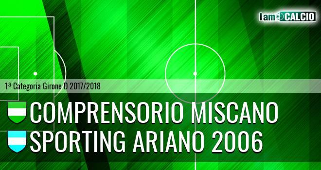 Comprensorio Miscano - Sporting Ariano 2006