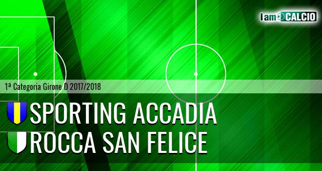 Sporting Accadia - Rocca San Felice