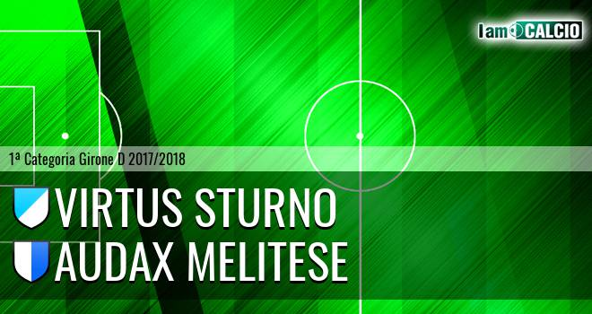 Virtus Sturno - Audax Melitese