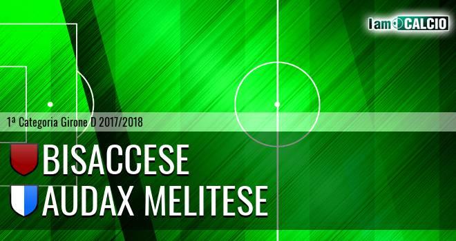 Bisaccese - Audax Melitese. Cronaca Diretta 14/02/2018