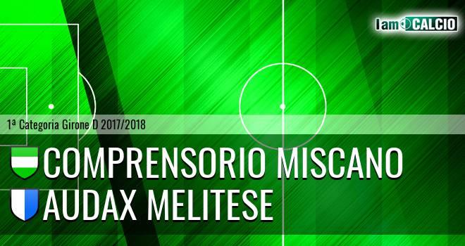 Comprensorio Miscano - Audax Melitese