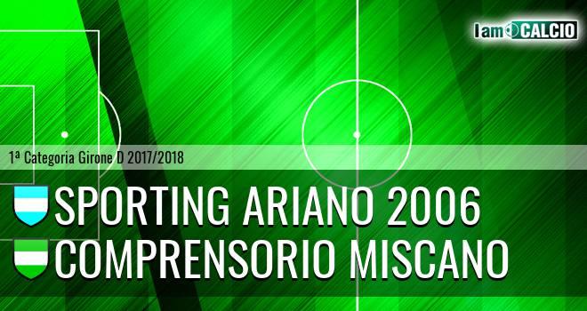Sporting Ariano 2006 - Comprensorio Miscano