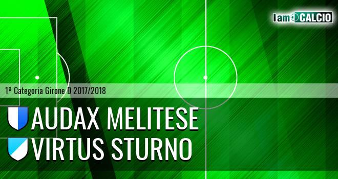 Audax Melitese - Virtus Sturno