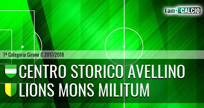 Centro Storico Avellino - Lions Mons Militum