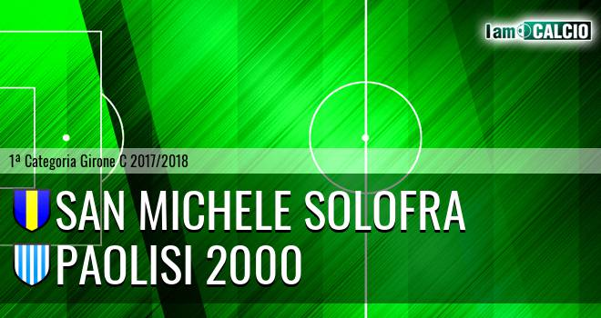 San Michele Solofra - Paolisi 2000