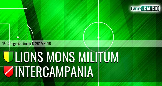 Lions Mons Militum - Intercampania