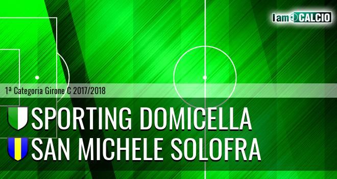 Sporting Domicella - San Michele Solofra