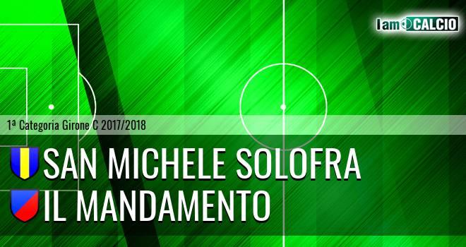 San Michele Solofra - Il Mandamento