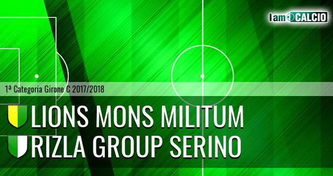 Lions Mons Militum - Rizla Group Serino