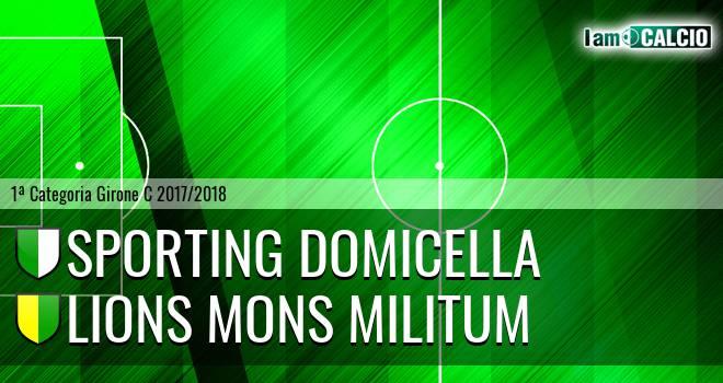Sporting Domicella - Lions Mons Militum