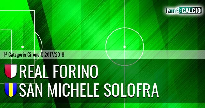 Real Forino - San Michele Solofra