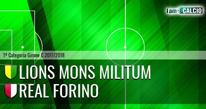 Lions Mons Militum - Real Forino
